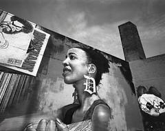 Explore Detroit (IV2K) Tags: mamiya mamiya7 mamiya7ii mediumformat 120film blackandwhite bw detroit detroitmichigan michigan graffiti kodak kodaktrix trix urban
