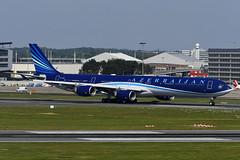 4K-A108 Airbus A340-642ACJ EBBR 14-05-19 (MarkP51) Tags: 4ka108 airbus a340642acj a340 azerbaijangovernment brussels zaventem airport bru ebbr belgium airliner aircraft airplane markp51 nikon d500 nikonafp70300fx sunshine sunny plane image