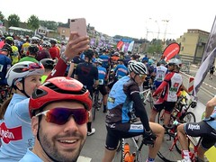 Start of the Schleck Gran Fondo