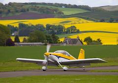 G-CGMG RV-9, Scone (wwshack) Tags: egpt psl perth perthkinross perthairport perthshire rv9 scone sconeairport scotland gcgmg