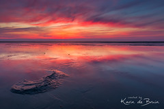 Fierce Sky! (karindebruin) Tags: annemarie nederland ouddorp sigrid thenetherlands zonsondergang zuidholland beach laagwater lowtide reflectie reflection sand strand sunset zand