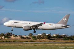 SundAir Airbus A320-214 'D-ASEF' LMML - 13.05.2019 (Chris_Camille) Tags: canon canon5d aviation avgeek aviationgeek mla lmml airport takeoff fly sky plane aircraft airplane maltairport spotting planespotting registrations spottinglog sundair airbus a320214 dasef 13052019
