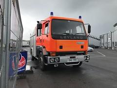 (Sam Tait) Tags: leyland diesel fire engine truck appliance 1987 orange safety vehicle classic old