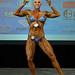 Women's physique Open 1st Melissa Jauvin