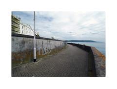 esplanade (chrisinplymouth) Tags: esplanade plymouth devon xg england uk city sea seaside wall westhoe wideangle diagonal r149 diag