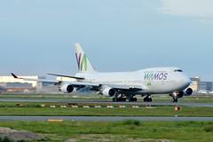 EC-MQK Wamos Air Boeing 747-400 (czerwonyr) Tags: ecmqk wamos air boeing 747400 fra eddf