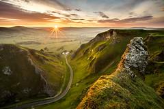 Winnats Pass Sunrise! (Nathan J Hammonds) Tags: winnats pass peaks peak district nation park sunrise hdr nikon irex 15mm benro morning spring sun view derbyshire uk sky hills landscape