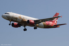 9H-AEO (Baz Aviation Photo's) Tags: 9haeo airbus a320214 air malta amc km heathrow egll lhr 27l km100