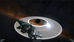 NGC 3532 Sector LX-U d2-58NGC 3532 Sector LX-U d2-58 1 (CMDR Snarkk) Tags: elite dangerous krait planet ring
