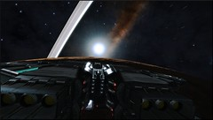 NGC 3532 Sector LX-U d2-58 1bis (CMDR Snarkk) Tags: elite dangerous planet ring krait