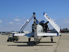 """Douglas A-1E Skyraider 00001 • <a style=""""font-size:0.8em;"""" href=""""http://www.flickr.com/photos/81723459@N04/47934894086/"""" target=""""_blank"""">View on Flickr</a>"""