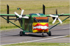 (Sir George R. F. Edwards) Tags: pink aviation services shorts sc7 skyvan lcv liql avgeek plane planelover planespotter planespotting aviationspotter aviationspotting airport canon 7dmarkii
