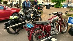 Panther & B.S.A at the 2019 Quaker Run (BSMK1SV) Tags: panther bsa quaker run vmcc vintage