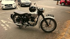 Triumph at the 2019 Quaker Run (BSMK1SV) Tags: triumph quaker run 2019 masham vmcc vintage