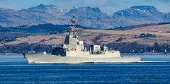 Spanish frigate Cristóbal Colón F105 (Ratters1968: Thanks for the Views and Favs:)) Tags: canon7dmk2 martynwraight ratters1968 canon dslr photography digital eos warships ship navy war military fleet faslane greenock cloch jw jointwarrior2019 clyde riverclyde scotland sea water nato exjw19 cristóbalcolónf105 spain spanish spanishnavy álvarodebazán christophercolumbus frigate