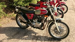 Triumph at the 2019 Quaker Run (BSMK1SV) Tags: triumph quaker run vmcc vintage