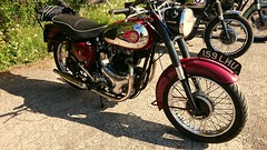 B.S.A A10 at the 2019 Quaker Run (BSMK1SV) Tags: bsa quaker run 2019 vintage vmcc