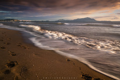 There's always a time you would like to return. (Emykla) Tags: mare sea licola campania pozzuoli nikond3100 nikon tramonto sunset onde waves spiaggia beach riva shore clouds nuvole longexposure sand sabbia italy italia h
