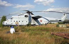 96 red - Moscow Zhukovsky (ZHU) 17.08.2001 (Jakob_DK) Tags: 96red sovietairforce mi6 mil6 mil milmi6 hook mi6hook uubw zia moscowzhukovsky zhukovskyinternationalairport 2001 gromov gromovflightresearchinstitute