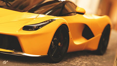 LaFerrari (at1503) Tags: yellow warmtones wheel ferrari supercar hypercar blackwheels laferrari headlight depthofffield backgroundblur blur closeup gtsport granturismo granturismosport motorsport italiancar racing game gaming ps4
