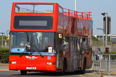 Y171 NLK, London Heathrow, July 9th 2015 (Southsea_Matt) Tags: y171nlk plaxton president volvo b7tl londoncitytour lhr egll londonheathrow greaterlondon england unitedkingdom canon 60d july 2014 summer bus omnibus passengertravel publictransport vehicle