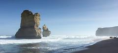 """Ocean Giants"", Australia (CvK Photography) Tags: australia autumn beach canon coast color cvk fall greatoceanroad holiday nationalpark nature outdoor seascape victoria waves oceanroad princetown australië"