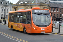 Transdev Rosso Wright StreetLite 604 SN64CSY - Rochdale (dwb transport photos) Tags: