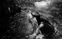 (cherco) Tags: water portrait spiritual ritual bali indonesian ceremony wet fountain blackandwhite blancoynegro face composition canon composicion city canoneos5diii moment lonely alone