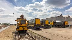 Classic diesel locomotives (Nicky Boogaard) Tags: blerick venlo modelspoorgroepvenlo railroadevent stadlerblerick classic classictrains sik nssik 2215 2454 6461 db6400