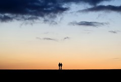 in lockstep (Wackelaugen) Tags: lockstep silhouette couple romantic sunset sundown orange two puertodelacruz tenerife teneriffa spain europe canaries canaryislands canaryisles canon eos 760d photo photography stephan wackelaugen