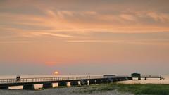 Brygga (konradpoland) Tags: malmö sweden scania scandinavia malmo europa europe nikon d7000 sigma 1750 1750mm outdoor outside sky clouds sunset sea baltic sun walk water brygga sverige skane
