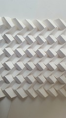 Little Boxes Made of Origami And they all look just the same  Origami corrugation paperfold