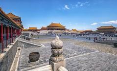 La città proibita (Fil.ippo) Tags: forbiddencity cittàproibita pechino beijing 故宫 china cina imperial emperor palace architecture filippo filippobianchi fuji xt2 北京 cityscape
