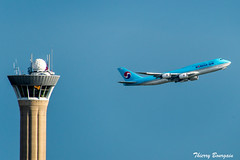 [CDG] Korean Air Boeing 747-8 _ HL7642 (thibou1) Tags: thierrybourgain cdg lfpg spotting aircraft airplane nikon d810 tamron sigma takeoff koreanair boeing boeing747 b747 b747800 b7478 b748 hl7642 seoul icn