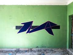 o t h e r s i d e m a n e (MOLCHANOVROMAN) Tags: graffity geometry minimal art streetart graffuturism graffiti абстракция