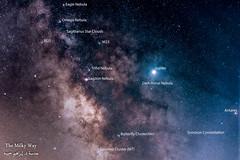 Core of the Milky Way Galaxy - Galactic Center (ebrahemhabibeh) Tags: milkyway milkywaycore blackhole galaxy galacticcenter stars astrophotography