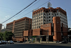 Citadel (cowyeow) Tags: armenia caucuses travel city street urban architecture building people public easterneurope