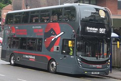 National Express West Midlands Alexander Dennis Enviro400 MMC 6819 (SN66 WDZ) (Perry Barr) 'Rebecca' (john-s-91) Tags: nationalexpresswestmidlands alexanderdennisenviro400mmc 6819 sn66wdz suttoncoldfield route907