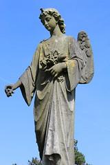 IMG_0418 (Tebo Steele) Tags: gravestone angel garaveyard cemetery graveyards cemeteries angelic beings plymouth