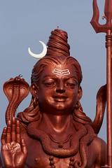 IMGP6274 Shiva ( Siva ) Giant Statue (Claudio e Lucia Images around the world) Tags: gangatalao grandbassin mauritius ganga talao grand bassin statue indu temple giant mystic place pilgrims lake pentax pentaxk3ii pentaxcamera pentaxart shiva siva tamron tamron70200 tamronart tamronlens