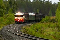 Dr13 2343 (Arttu Uusitalo) Tags: vr hmvy diesel locomotive dr13 finnishrailways train passenger finland southern ostrobothnia may spring saturday evening canon eos 5d sigma 150600