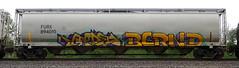 Groe/Bernd (quiet-silence) Tags: graffiti graff freight fr8 train railroad railcar art groe ctw rtd bernd dib hopper furx furx894010