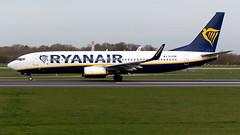 Ryanair EI-FON 737-8AS EGCC 23.03.2019 (airplanes_uk) Tags: 23032019 737 737800 7378as aviation boeing eifon man manchesterairport planes ryanair