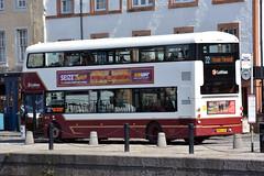 414 (Callum's Buses and Stuff) Tags: bus buses busesedinburgh buseslothianbuses buslothianbuses busedinvburgh volvo b5tl edinburgh edinburghbus road madderandwhite madderwhite madder mader gemini gemini3 b5
