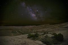 Black Dragon Canyon, Starlit (Jeff Mitton) Tags: stars nightsky milkyway landscape blackdragoncanyon sanrafaelreef utah coloradoplateau earthnaturelife wondersofnature