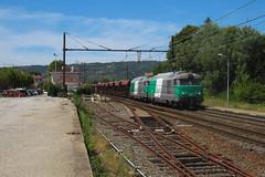 Mazouts Fret descendants la PLM (railmax07) Tags: train ferroviaire bb67400 fret infra trémies sncf gevrey avignon tain plm