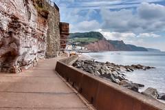 Seaside stroll (Nige H (Thanks for 20m views)) Tags: nature landscape sea seascape cliffs coast coastline beach devon england sidmouth footpath