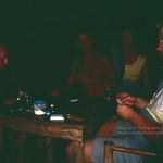 Koh Phangan, playing cards in Suncliff bungalows