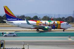 Southwest Airlines | Boeing | 737-7H4(WL) | N945WN (TFG Lau) Tags: klax lax losangeles aeroplane airplane aircraft aviation plane planespotting spotting canon canoneos eos canon5dmarkiii eos5dmarkiii ahkgapworldwide southwestairlines southwest swa wn boeing boeing737 b737700 737 n945wn