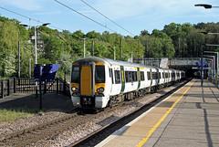 387115 387119 Hadley Wood (CD Sansome) Tags: hadley wood station tsgn gtr govia thameslink railway great northern train trains ecml east coast main line 387 387115 387119